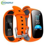 HANGRUI Smart band OLED Pulse Heart Rate Monitor Smart Watches Blood Pressure Activity Fitness Tracker Bracelet Alarm Clock