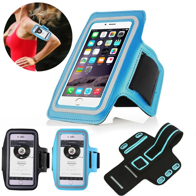 hot sale online d7167 07d44 US $1.35 29% OFF|Arm Band For iPhone 6/Plus Running Riding Arm Band Cases  Dirt resistant Hand Bag Sport Mobile Phone Holder Pouch Belt Cover-in ...