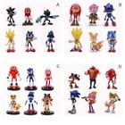 4 Styles Sonic 6 pcs...