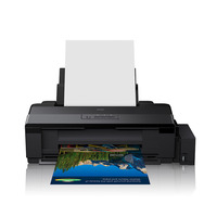 Inkjet A4 Size Printer for Epson L805 Printer with WIFI For Doucument, CD, PVC Card