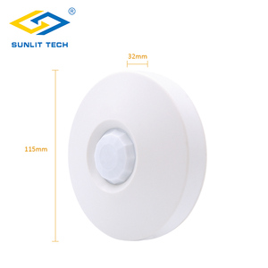 Image 4 - 3pcs/Lot Wired 360 Degree Ceiling Mounted PIR Sensor Infrared Indoor Motion Detector for Burglar Alarm Home Security System