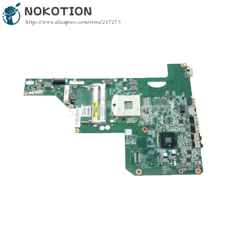 NOKOTION 615849-001 605903-001 Laptop Motherboard For HP G62 G72 CQ62 HM55 UMA DDR3 MAIN BOARD nokotion laptop motherboard 720565 601 for hp envy 15 15 j 720565 001 main board uma hm87 gma hd ddr3 w8std