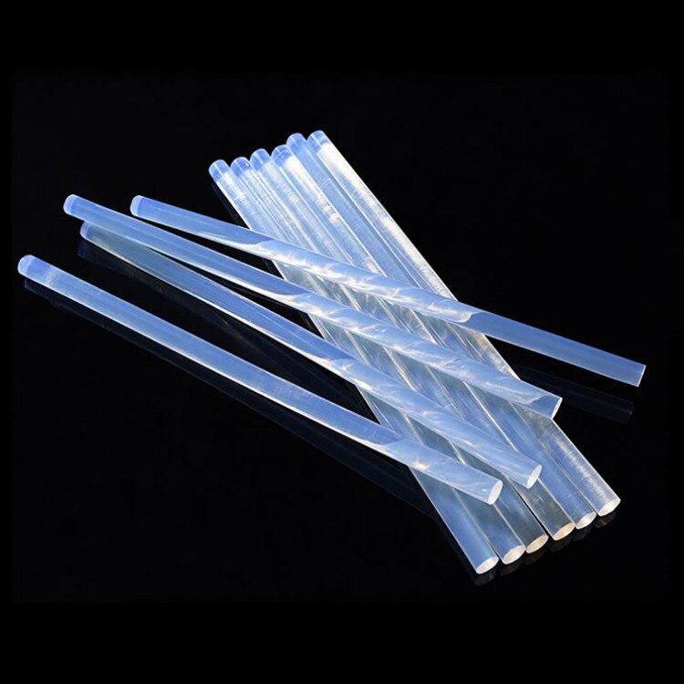 10 Pieces Per Pack 11mm*190mm Transparent Hot Melt Adhesive High Viscosity Rod Glue Sticks For Glue Gun