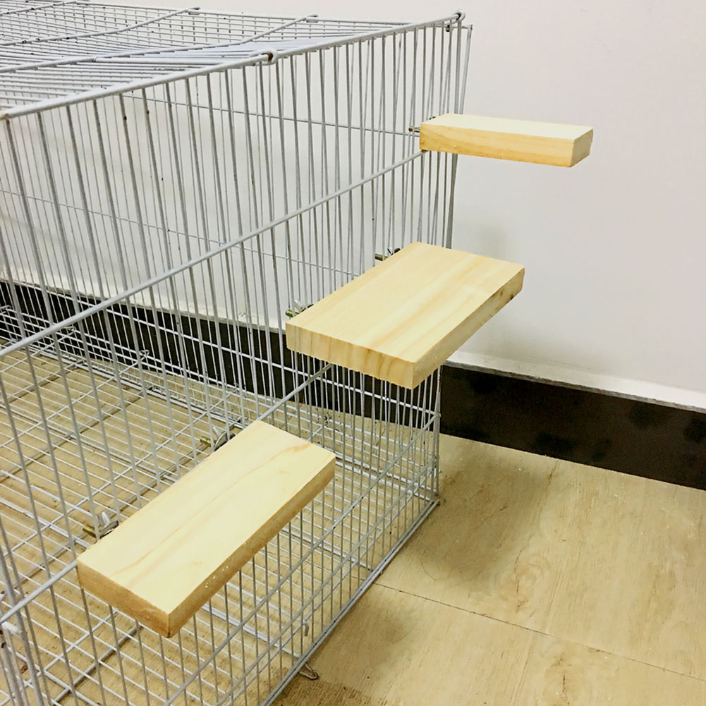 Wood Stand Platform Toy Paw Grinding Clean Cage Accessories For Parrot Hamster  Store