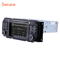 Seicane WINCE6.0 Car Radio DVD Player GPS Bluetooth for 2002 2007 Jeep Grand Cherokee Liberty Patriot Wrangler Support IPod SD