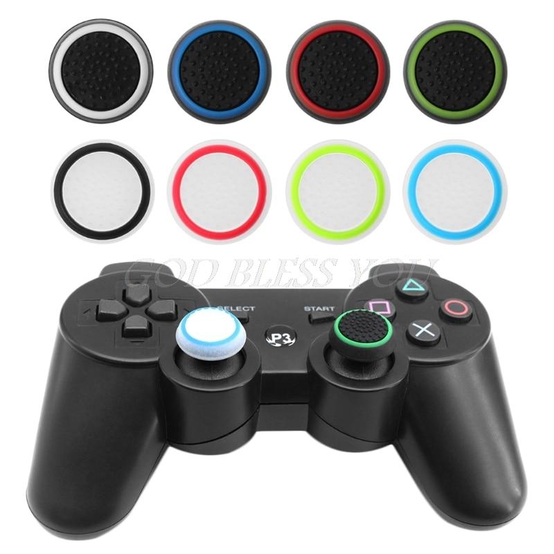Hingebungsvoll 4 Pcs Thumb-stick Grip Joystick Kappe Schützen Abdeckung Für Ps4/ps3/ps2 Xbox Controller Zubehör Billigverkauf 50% Unterhaltungselektronik