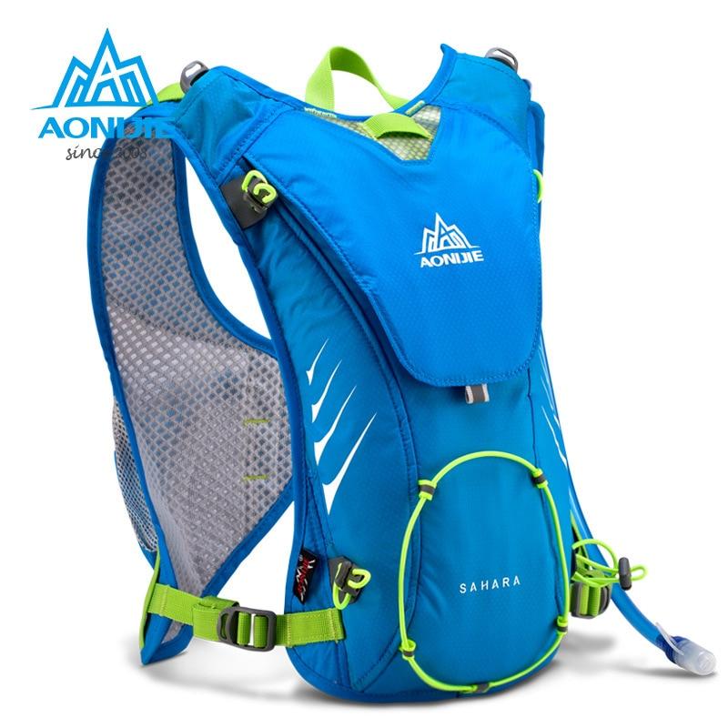 Prix pour 2017 nouveau aonijie extérieure trail course marathon hydratation sac à dos léger randonnée sac pour hommes femmes