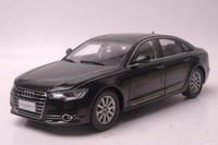 1:18 Diecast Model for Audi A6L 2012 Black Sedan Alloy Toy Car Miniature Collection Gifts A6 S6