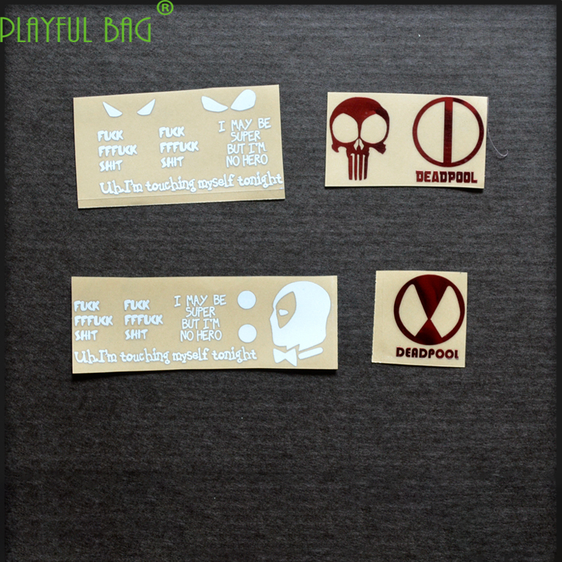 Mk18 Metal Sticker Under Jin Ming For Terminator M4 Water Bomb Electric Continuous Hair Water Bomb Metal Sticker SCAR L57