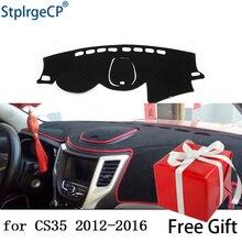 Per CHANGAN CS35 2012-2016 cruscotto tappetino pad di Protezione Ombra Cuscino Pad interni sticker car styling accessori