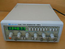Fast arrival 10MHZ SIGNAL/ FUNCTION GENERATOR,AUDIO,FREQ COUNTER, HI FI TESTING