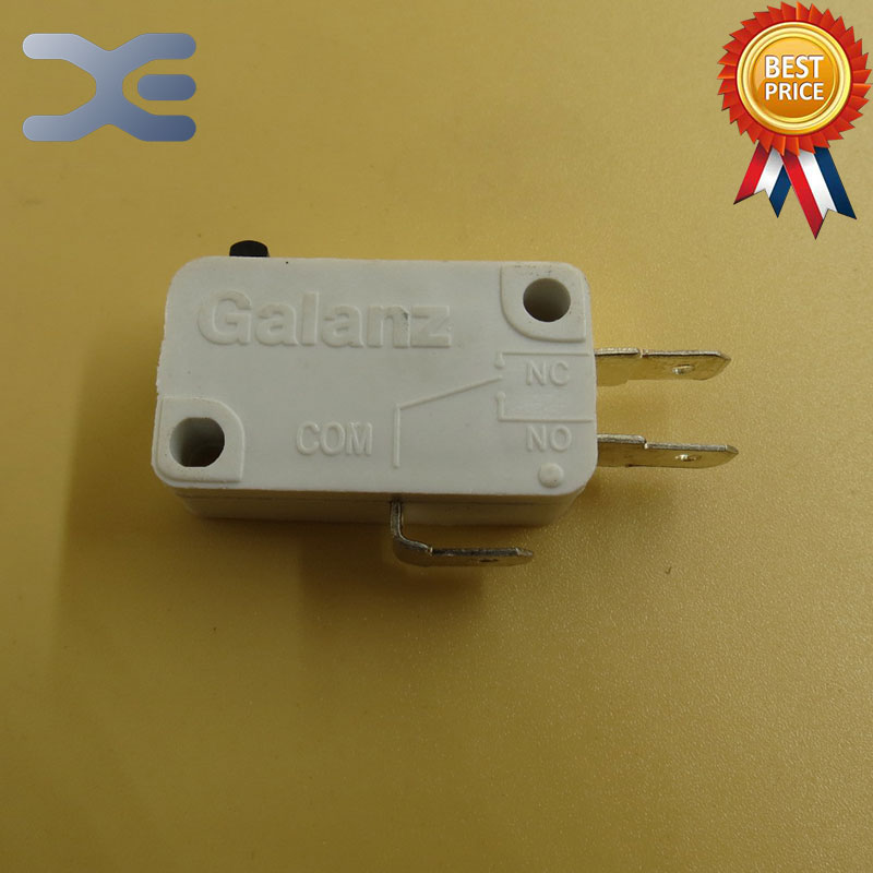 5Per Lot Microwave Oven Parts Microwave Switch Micro - Switch Three Pin 102C Microwave Oven Accessories