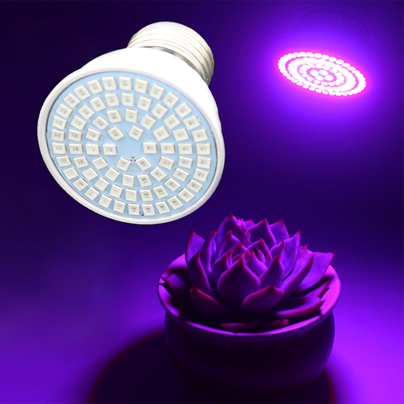 5W 220V/110V Plant Grow Light E27 LED Lamp for Greenhouse Vegetables Hydroponic System Grow box Fill Light