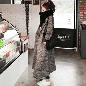 Big Goose Women long sleeve winter autumn trench coats f5a82d16adc2