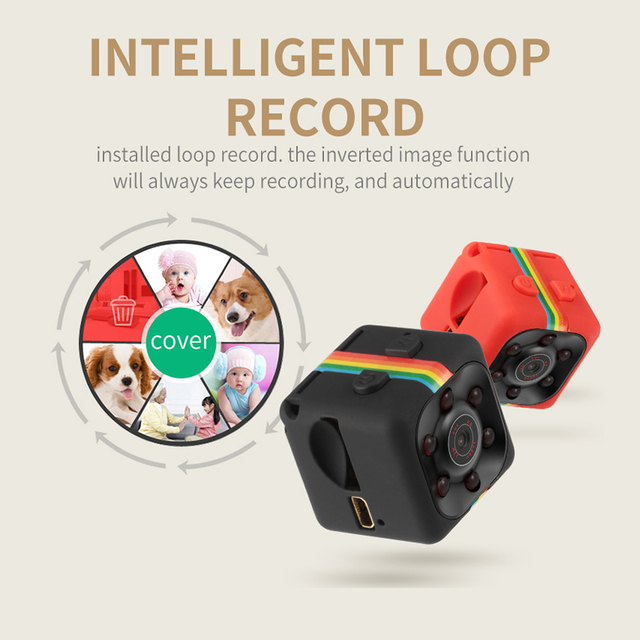 Original Mini Cam WIFI Camera SQ13 SQ23 SQ11 SQ12 FULL HD 1080P Night Vision Waterproof Shell CMOS Sensor Recorder Camcorder 3
