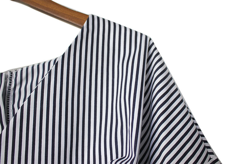 a24c70b0625 SuperAen Temperament Fashion Women Shirts V-neck Striped Casual ...