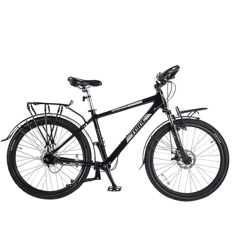 JDC-380, 26″ 7 Speed, No-Chain Touring Bike, Travel Mountain Bike, MTB Bicycle