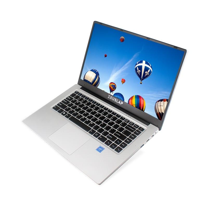 ZEUSLAP New 15.6inch 6gb Ram 512gb Ssd 1920*108P IPS Screen Intel Celeron Cheap Netbook Notebook Computer PC Laptop