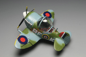 Image 3 - Model Building Kits Montage Vliegtuig Fighter Leuke Vliegtuig Model UK Spitfire Vechter Model DIY 105