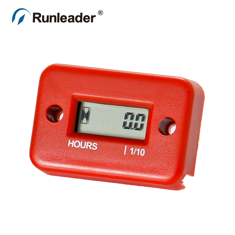 Digital Waterproof Hour Meter For Dirt Quad Bike ATV Motorcycle Snowmobile marine pit bike chainsaw glider jet ski boat outboard