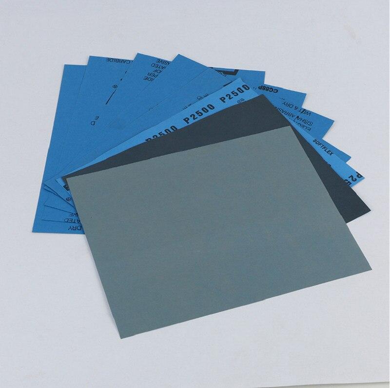 Sandpaper3000 4000 5000 7000 Wet And Dry Sandpaper Polishing Abrasive Waterproof Paper Sheets