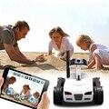 Бесплатная доставка 2015 новый электронный Беспроводной Wi-Fi Управления RC Танк Игрушка с Движущейся Камерой-контролируется iPhone/iPad/iPod