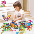 Mylitdear 86 unids normal tamaño diseñador enlighten ladrillo ladrillos magnética bloques de construcción magnética juguetes modelo juguetes para niños