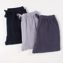 Plus Size Homewear Mens Cotton Sleep Bottoms Man String Loos