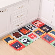 New Cartoon Doormat Floor Mat Anti-slip Water Absorption Carpet Kitchen Door Cat Toilet Rug Porch