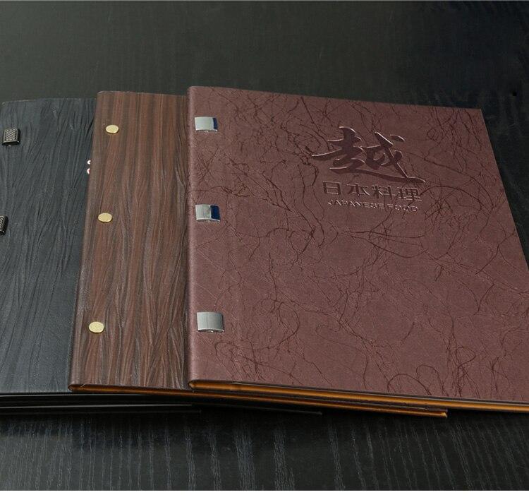 5pcs/ lots customised A4 A5 A3 Italian PU leather menu folder 5pcs tms320dra342azdk a5 80x80 new