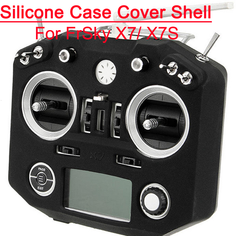Transmitter Silicone Case Cover Shell Spare Part for FrSkY ACCST Taranis Q X7 X7S astro 5th mini album dream part 02 random cover release date 2017 11 02