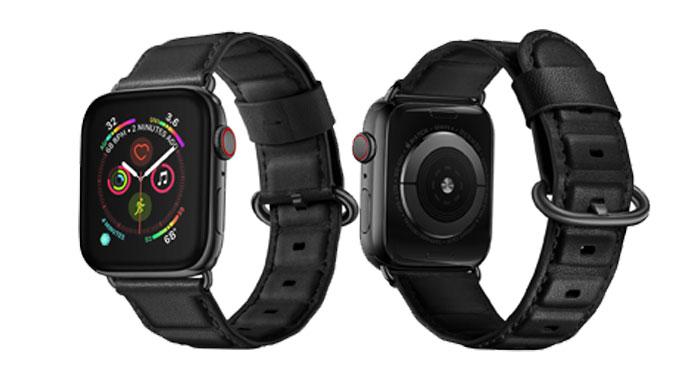 Bracelet en cuir véritable pour apple bracelet de montre 4 42mm 38mm bracelet de haute qualité bracelet pour iwatch 4/3/2/1 44mm 40mm