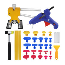PDR Tools Car Dent Repair Tool Set Glue Gun Sticks Dent Puller Paintless Removal Tools For Auto Repair Dental Kit repair hammer auto body tools dent puller kit spotter stud welder spot welding gun washer chuck holder car bodywork dent repair automotive