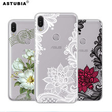 ASTUBIA Lace Flower Case For Asus Zenfone Max Pro M1 ZB601KL Case ZB570TL Cover For Zenfone 5 ZE620KL 5Z ZS620KL 5 Lite ZC600KL(China)