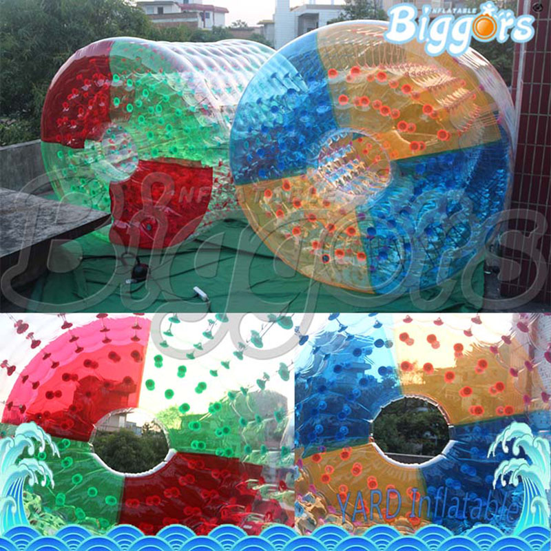 Colorful Inflatable Pool Inflatable Ball Toy Inflatable Water Walking Roller inflatable water spoon outdoor game water ball summer water spray beach ball lawn playing ball children s toy ball