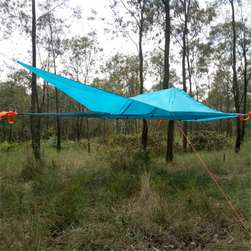 Detail Feedback Questions about SKYSURF C&ing Hanging Tree Tent 1 Person Ultralight Triangle Suspension Hanging C&ing Tent Portable Waterproof Hammock ... & Detail Feedback Questions about SKYSURF Camping Hanging Tree Tent 1 ...