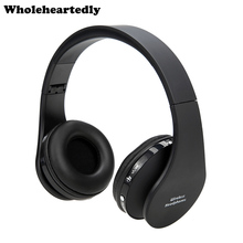 Hot Stereo Foldable Headset Handsfree Wireless Bluetooth Headphones Earphone with Mic Micphone for iPhone Galaxy HTC Smart phone