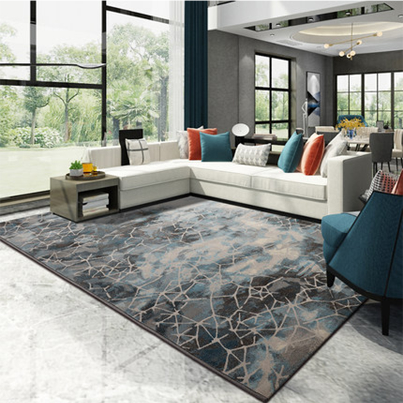 Rugs And Carpets For Living Room Home Area Rug For Bedroom 3D Persian Nordic Carpet Long Rug Fur Fluffy Rugs Karpet