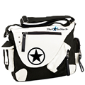 Cartoon Anime Black Rock Shooter BRS Cosplay Messenger Bags Canvas Shoulder School Travel Book Bags