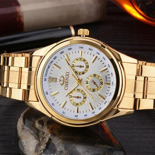 CHENXI Χρυσό ρολόι Ανδρικά ρολόγια - Ανδρικά ρολόγια - Φωτογραφία 3