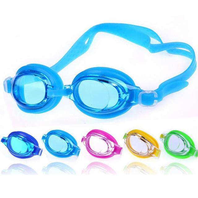 31b1ba88735a9 Crianças Crianças Nadar Piscina Debaixo D  Água Anti Nevoeiro À Prova D   Água Silicone
