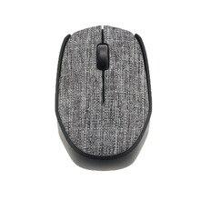USB тканевая игровая мышь беспроводная 2,4G мышь для ноутбука Мягкая тканевая крышка ПК мышь компьютер для работы дома геймерская мышь