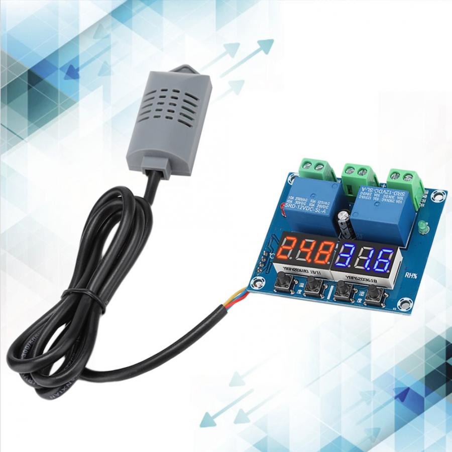Humidity-Control-Module Temperature 452 And With Digital-Display Dual-Output XH-M452