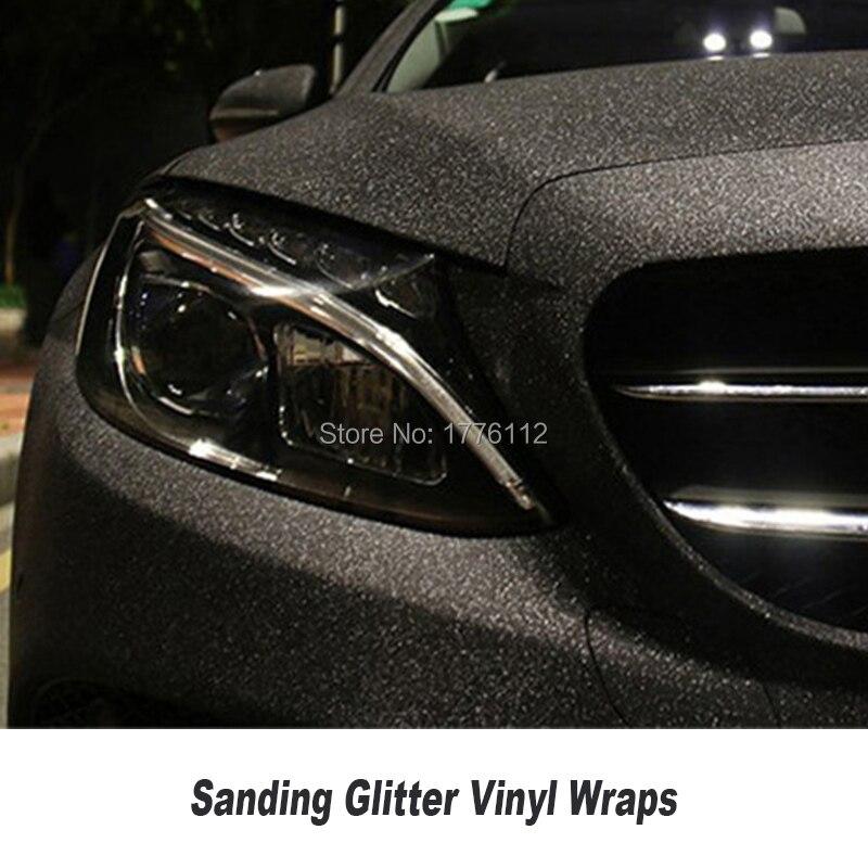 Блестящая Алмазная виниловая пленка для автомобиля, черная шлифовальная блестящая Фольга для грузовика, мотоцикла, автомобиля, обертка, пи...