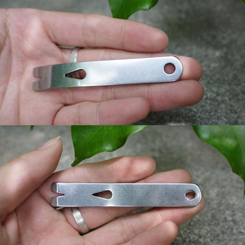 1PC 3 New Pocket Pry Bar High-quality Stainless Steel Pocket EDC Tool