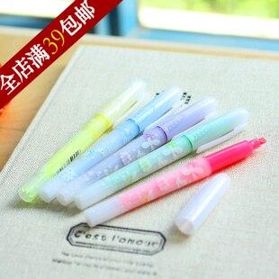 Stationery 6191 pen fruit neon pen 6