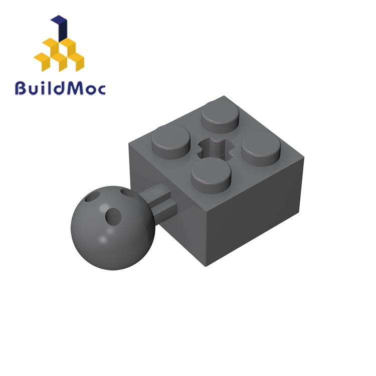 BuildMOC 57909 2x2 For Building Blocks Parts DIY LOGO Educational Creative Gift Toys