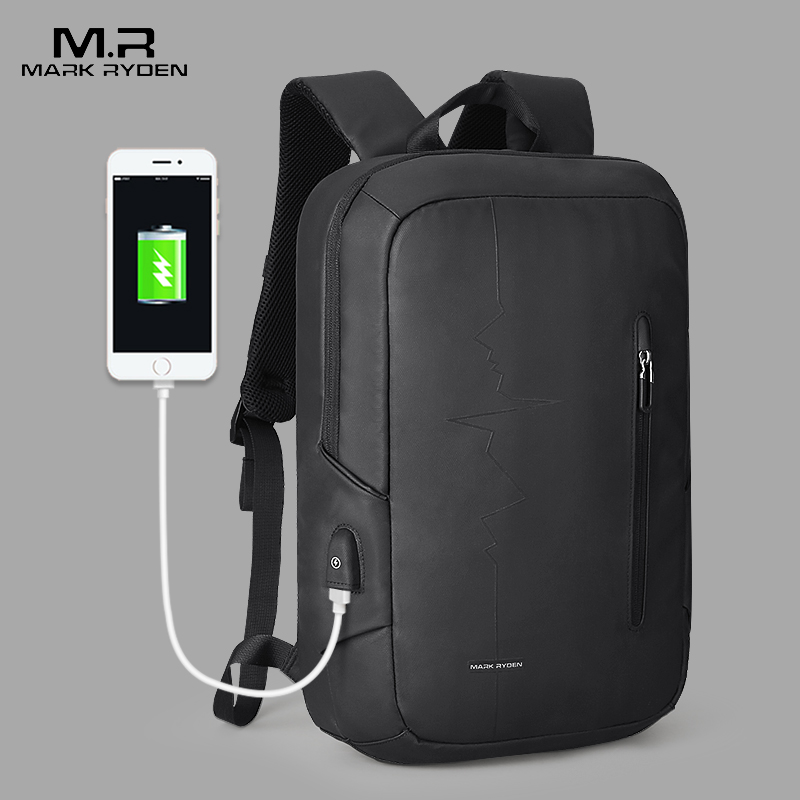 Mark Ryden Backpack Multifunction USB Charging Backpack Male Large-Capacity Mochila Fit 15.6 Inch Laptop Men Travel Backpack