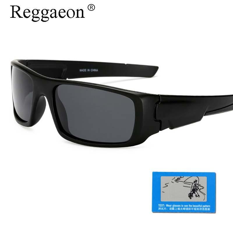 Reggaeon Brand Sunglasses Polarized Men 2018 Uv400 Travel Brand Designer Women Glasses Sports Goggles Anti-glare Driver Brown Apparel Accessories Men's Glasses