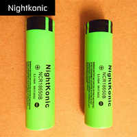 Original Nightkonic  12  PCS/LOT  2000mAh 18650 Battery  3.7V Li-ion Rechargeable Battery 18650B